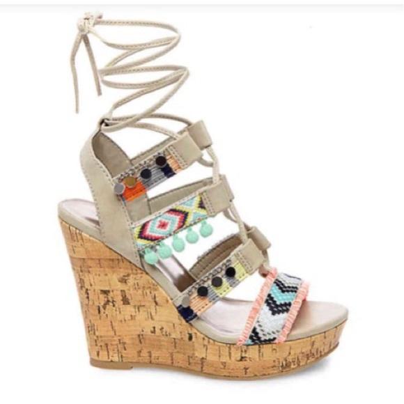 2d6f754eb95 Steve Madden Shoes - Madden Girl Indiie Wedge Sandal